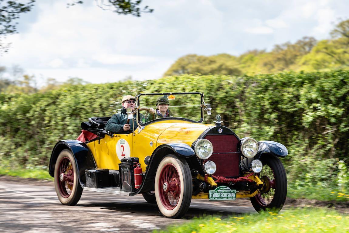 Car 02. Andrew Bailey (IRL) / Philippa Spiller (IRL) 1918 Stutz K Roadster