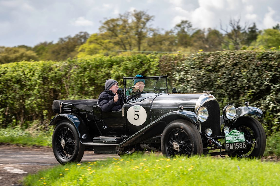 Car 05. Peter Neumark (GB) / Guy Woodcock (GB) 1922 Bentley 3-4 1/2
