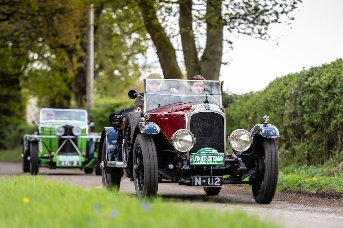 Car 09. Robert Glover (GB) / Piers Loxton-Edwards (GB) 1924 Vauxhall 30/98
