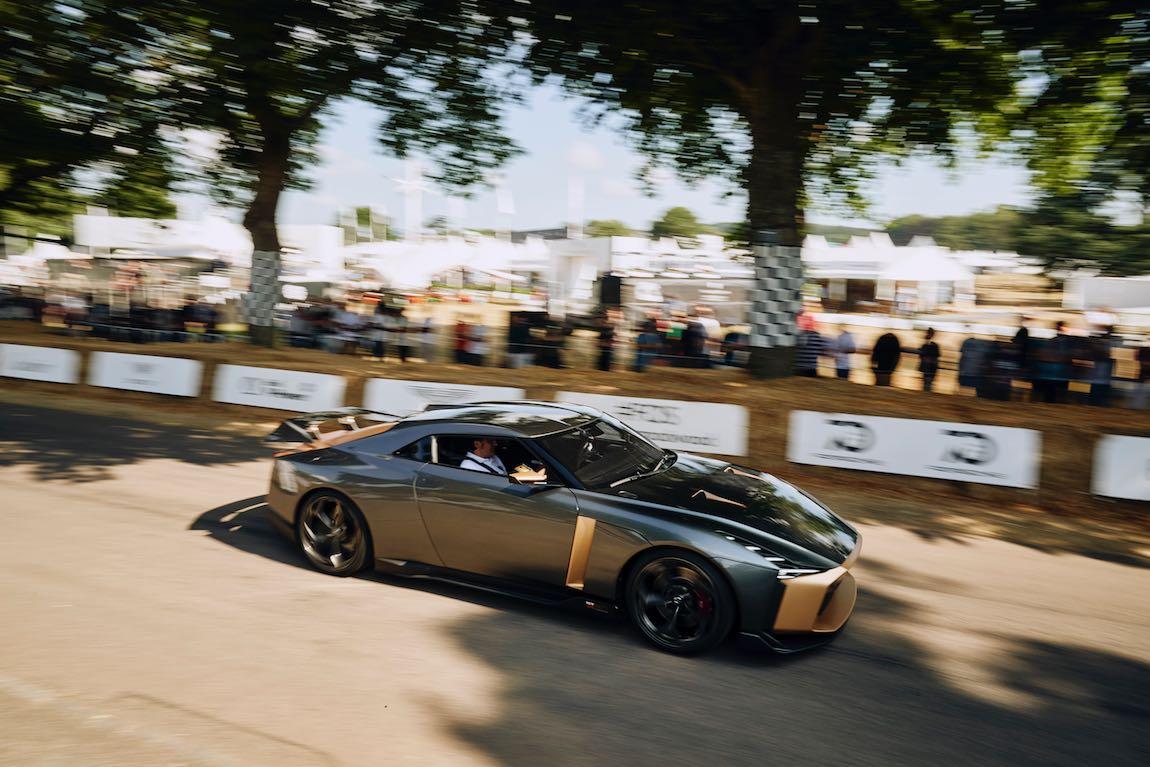 Nissan GT-R (photo: Dominic James)