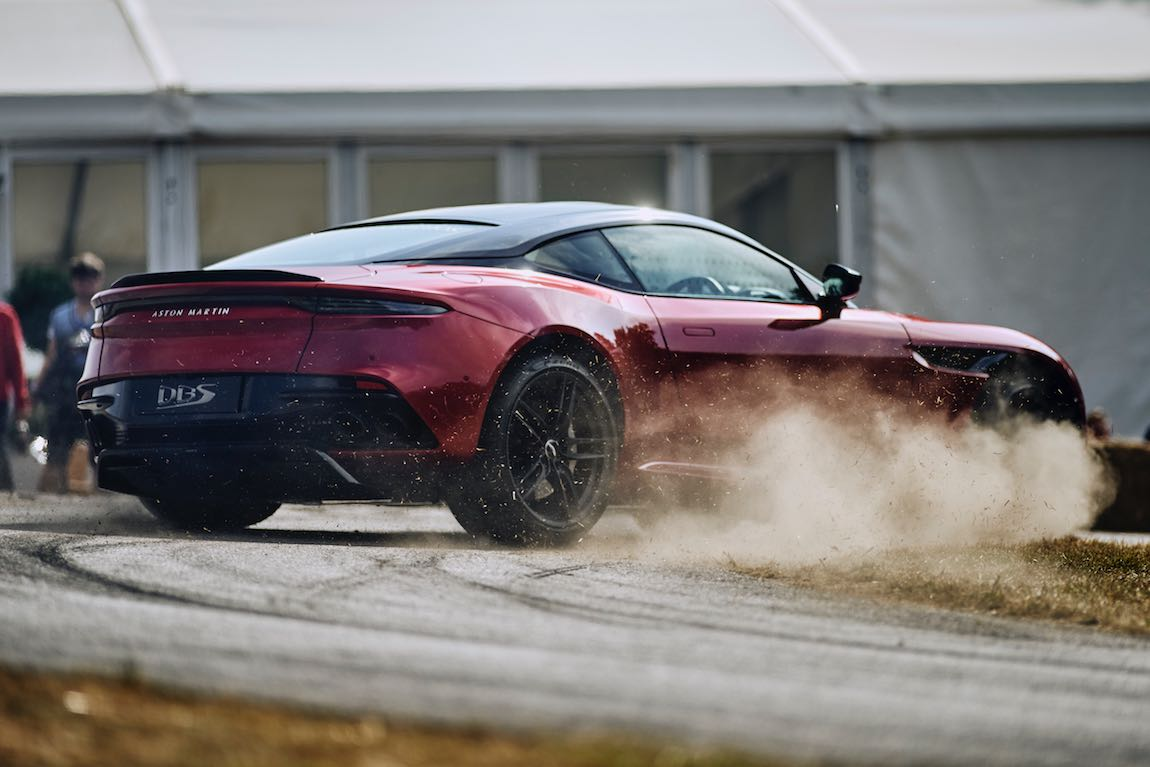 Aston Martin DBS (photo: Dominic James)
