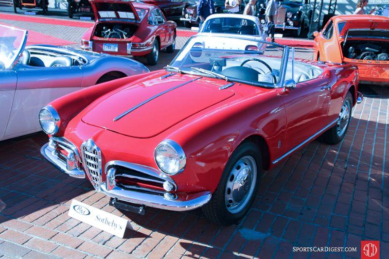 1962 Alfa Romeo Giulietta Spider, Body by Pininfarina