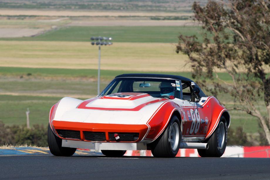 Chris Springer's 1969 Corvette in two.