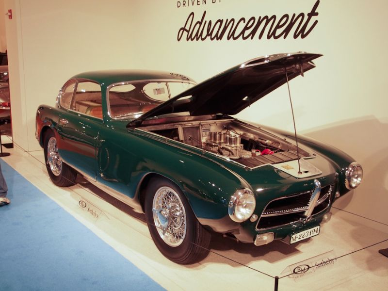 1954 Pegaso Z-102 3.2 Berlinetta, Body by Touring