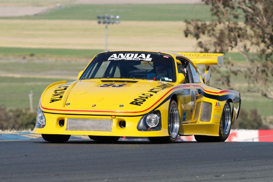 Steve Schmidt's 1976 Porsche K-3 in two.