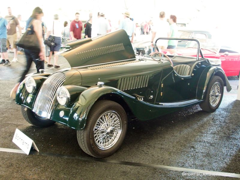 1957 Morgan Plus 4 Tourer; S/N 3506; Dark Green,/Dark Green leather