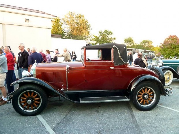 1928 Velie Model 60 Convertible Coupe