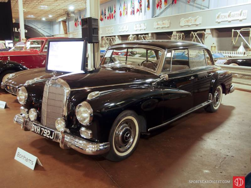 1959 Mercedes-Benz 300d 4-Dr. Sedan
