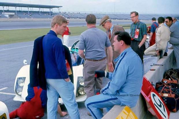 Porshe factory team Daytona 24 Hours 1967