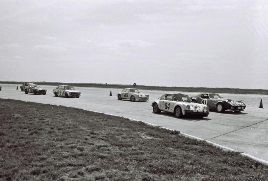 Early action at Sebring, 1973