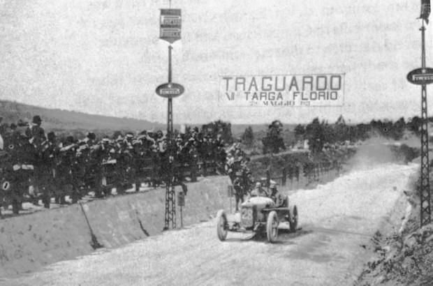 Count Masetti, 1921 Targa Florio, Fiat race car