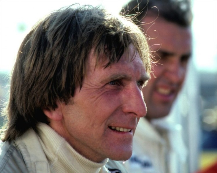 Derek Bell and David Hobbs in the pits at Mid-Ohio during the 1979 IMSA race. They finished 9th overall in their BMW 320 Turbo.