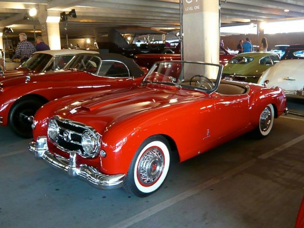 1953 Nash-Healey 161 Pinin Farina Roadster