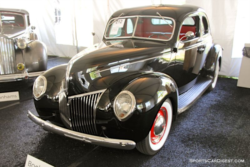 1939 Ford Model 91A Deluxe Coupe