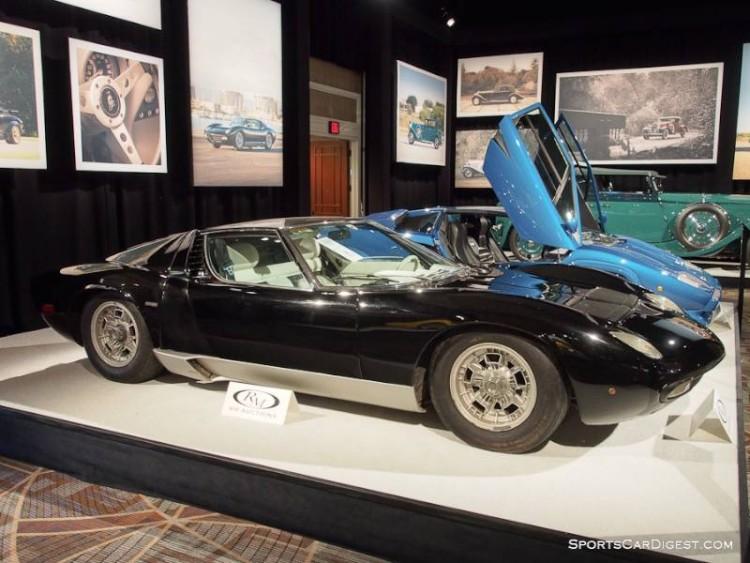 1970 Lamborghini Miura P400 S Coupe, Body by Bertone
