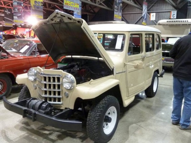 1952 Willys Jeepster 2-Dr. Station Wagon
