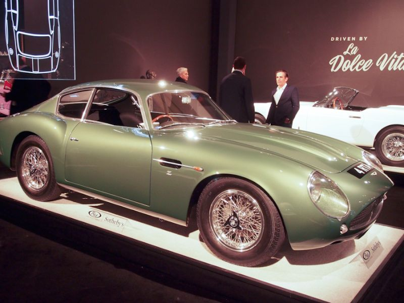 1962 Aston Martin DB4GT Coupe, Body by Zagato