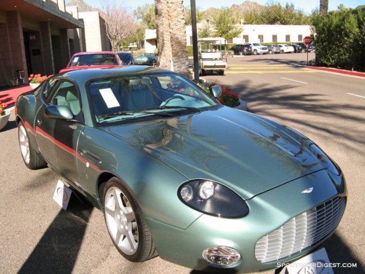 2003 Aston Martin DB7 Vantage Coupe, Body by Zagato