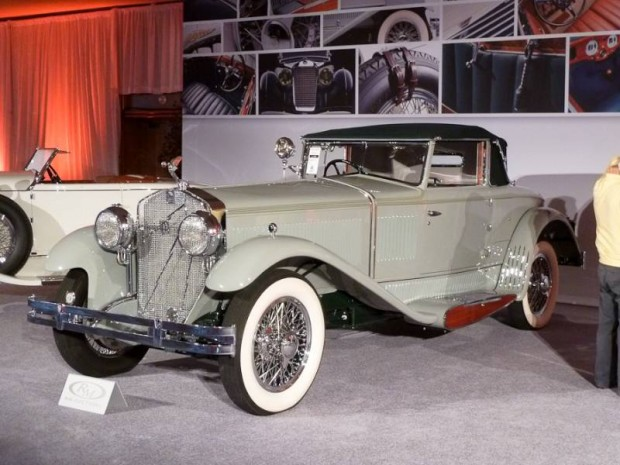 1930 Isotta-Fraschini Tipo 8AS Boattail Cabriolet