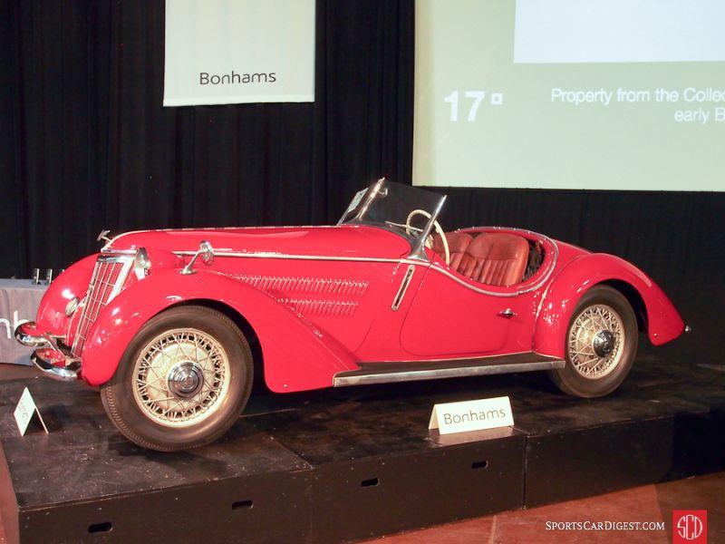 1938 Wanderer W25K Roadster
