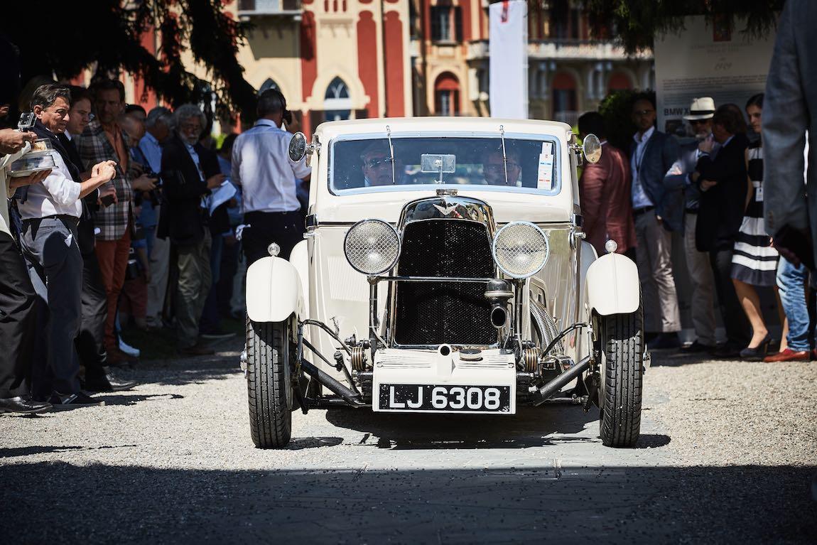 1932 Aston Martin International Saloon by Bertelli