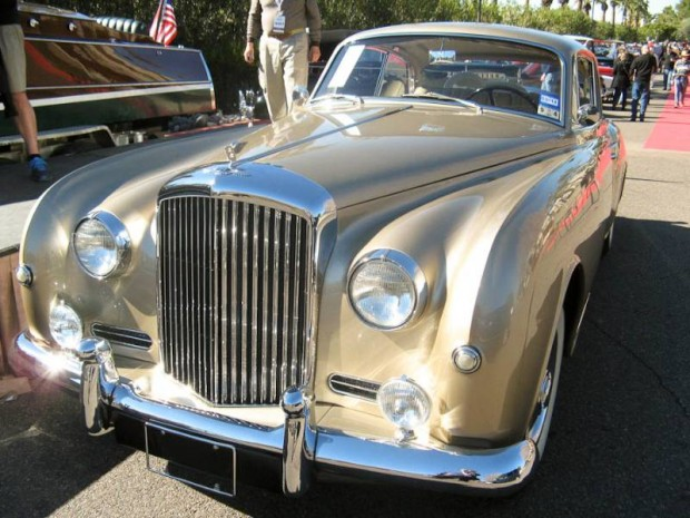 1958 Bentley S1 Continental Fixed-Head Coupe, Body by Park Ward