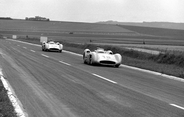 Fangio and Kling, Mercedes-Benz W196