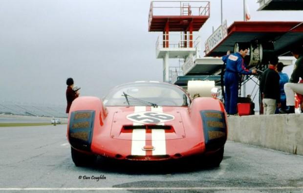 Walter Habegger Charles Vogele Porsche 906 LH Daytona 1967