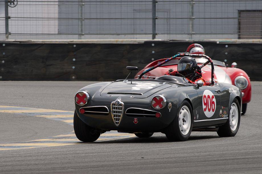 Peter Inshaw's 1963 Alfa Romeo Giulia.