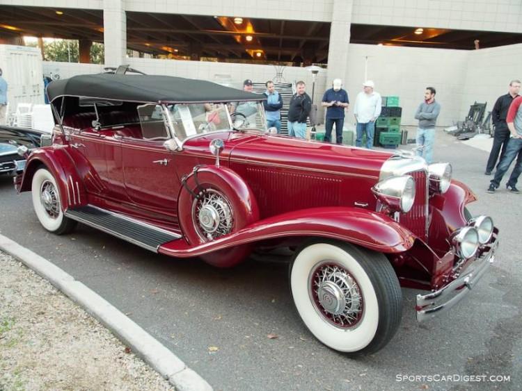 1931 Chrysler CG Imperial Dual Cowl Phaeton, Body by LeBaron
