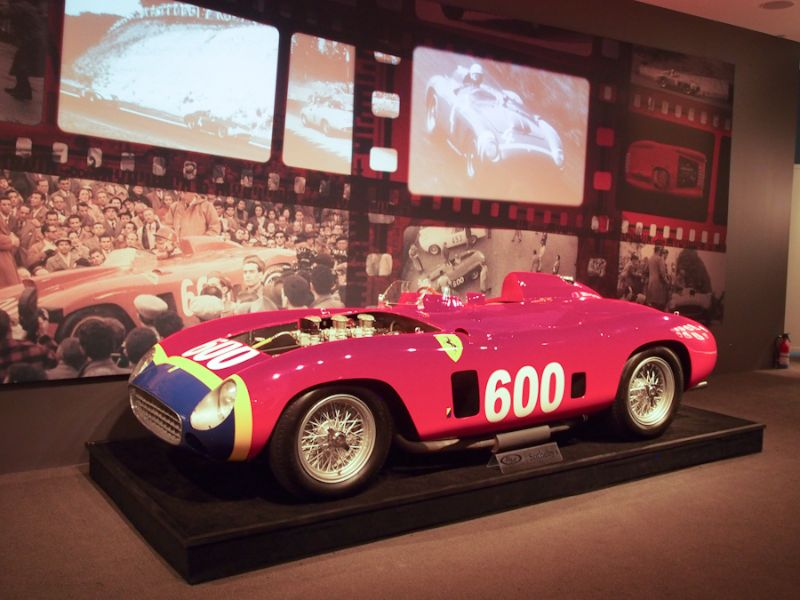 1956 Ferrari 290 MM Sports Racer, Body by Scaglietti