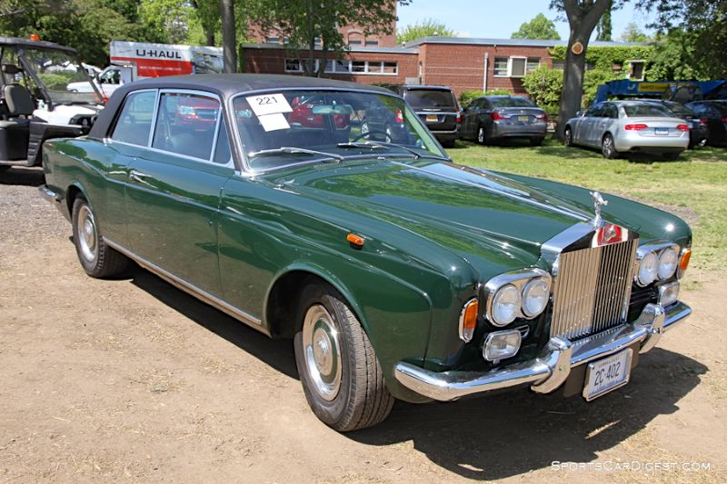1972 Rolls-Royce Silver Shadow Coupe, Body by Park Ward