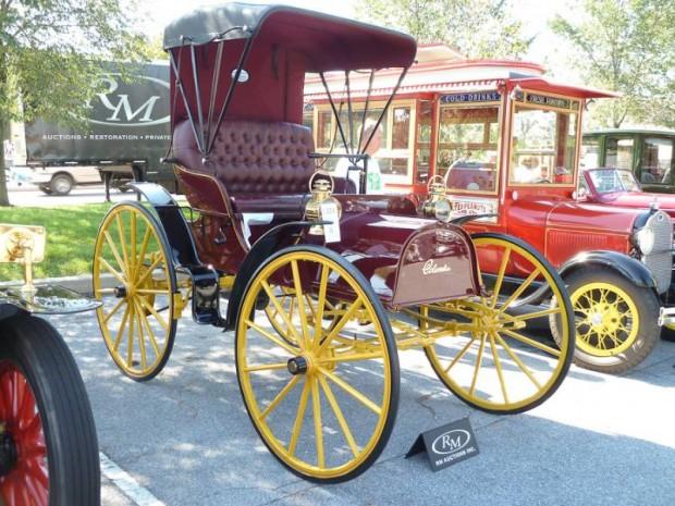 1905 Columbus Highwheel Runabout
