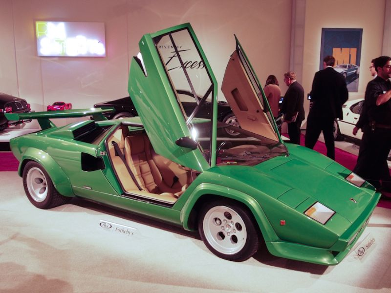 1981 Lamborghini Countach LP400 S Series III Coupe, Body by Bertone