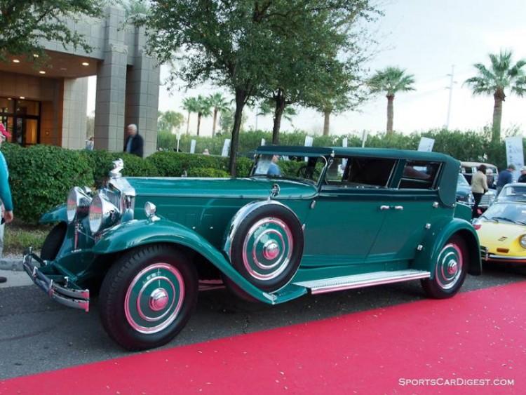 1931 Minerva AL Convertible Sedan, Body by Rollston