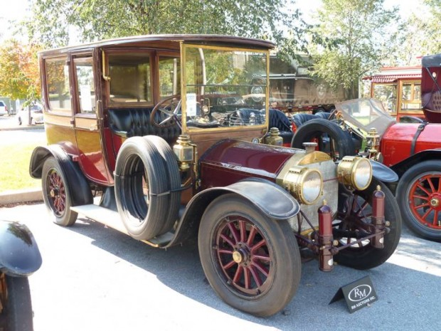 1912 Mercedes 28-50PS Town Car, Body by Brewster