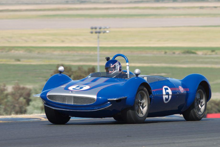 Jim Gallucci's 1964 Troutman and Barnes Scorpion in three.