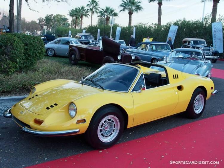 1974 Ferrari 246 GTS Dino Spider, Body by Scagliett