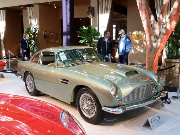 1960 Aston Martin DB4GT Coupe