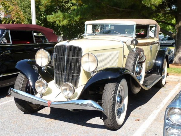 1933 Auburn Eight Salon Convertible Sedan