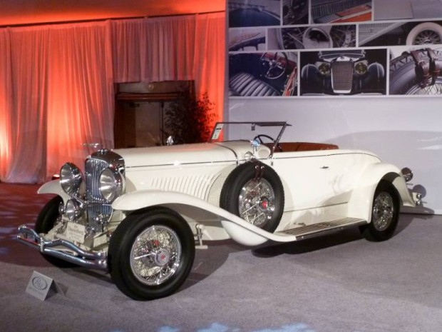 1929 Duesenberg Model J Disappearing Top Convertible Coupe