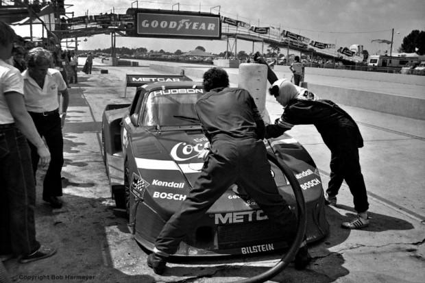 Coca-Cola Porsche 935, Bob Akin