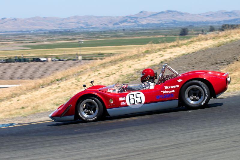 Cameron Healy's quick 1953 Pooper Mk.7 in turn twelve.
