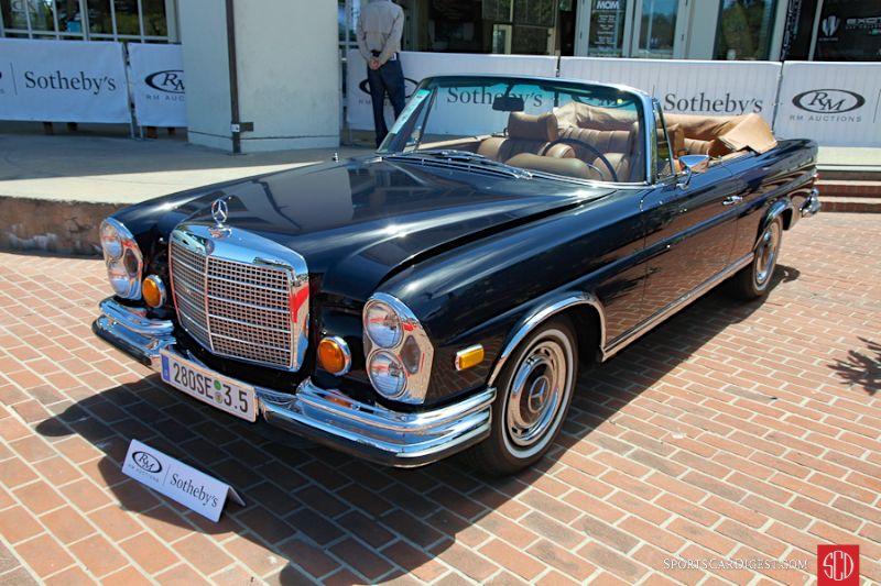 1971 Mercedes-Benz 280SE 3.5 Cabriolet