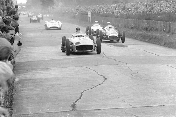 Juan Manuel Fangio, 1954 German Grand Prix, Mercedes-Benz W196