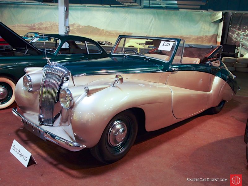 1950 Daimler DB18 Special Sports Convertible