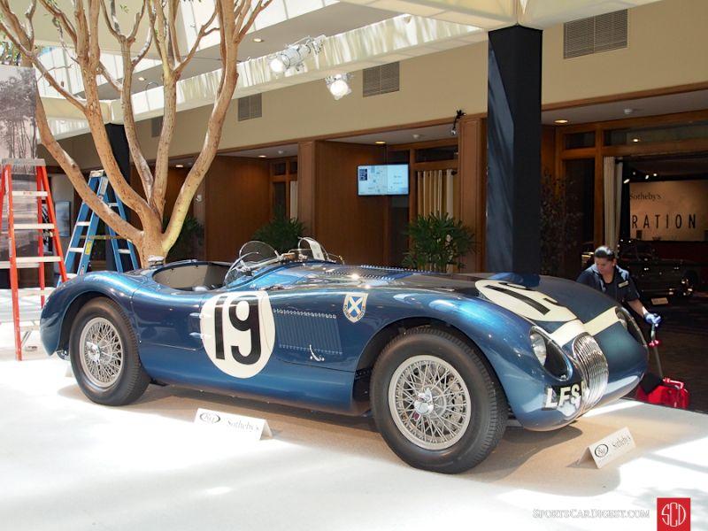1953 Jaguar C-Type Lightweight Roadster
