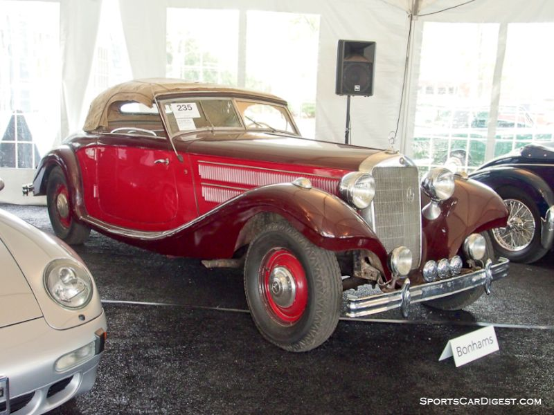 1938 Mercedes-Benz 320 LWB Kombination Roadster, Body by Sindelfingen