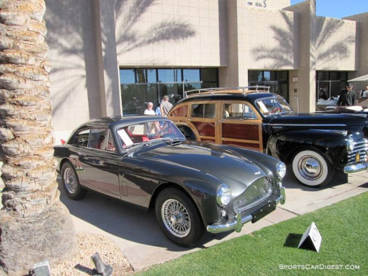 1958 Aston Martin DB MK III Notchback Coupe