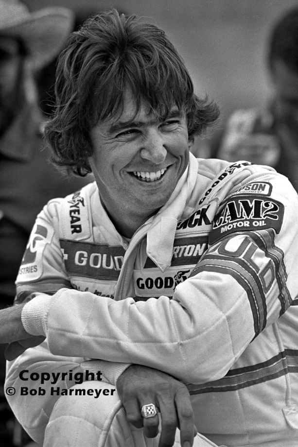"""Rick Mears waits for the start of practice for the 1981 Indianapolis 500. Mears dropped out of the """"500"""" after a pit fire, but won the following CART races at Atlanta, Riverside, Michigan, Watkins Glen and Mexico City to wrap up his second CART championship."""